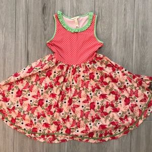 Matilda Jane Butterfly Twirl Dress Size 12